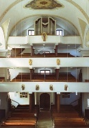 Kirchenraum Emporen