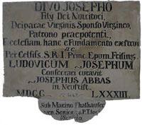 St.Josef.Gendenkstein
