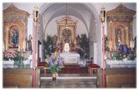 St. Peter und Paul Unterkienberg Innen