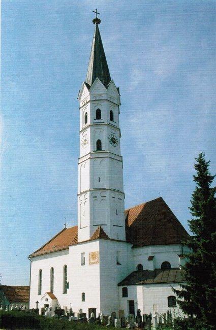 Pfarrkirche Hohenkammer Außen