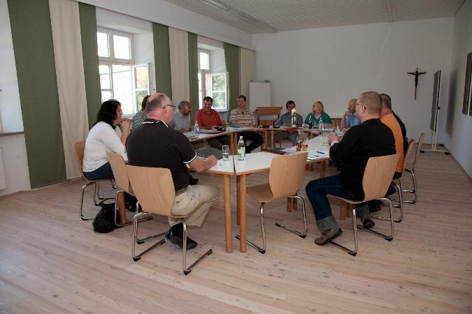 Klausurtag in Scheyern