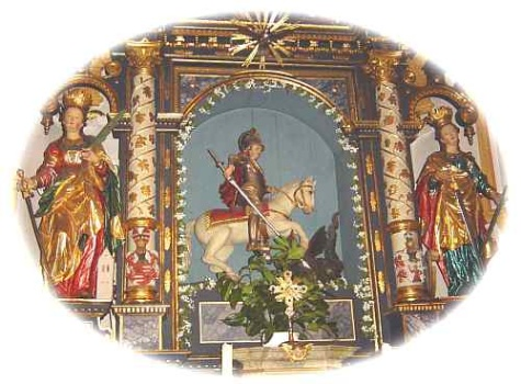 St. Georg Palzing Altarbild
