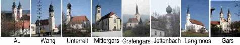 Kirchen im PVB