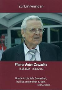 Flyer Titel Pfarrer Zawadke