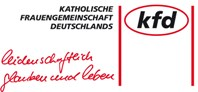 Logo kfd leidenschaftlich Glauben und Leben