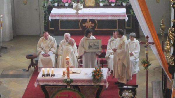 Oberbergkirchen 50. Priesterjubiläum<br/>Pater Redl
