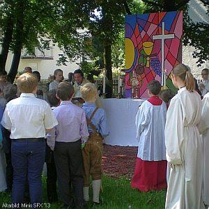 Pfarrfronleichnam Altar