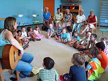 Singen im Kindergarten von St. Otto