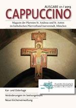 Titelseite Cappuccino März 2013