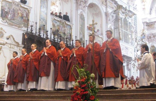 Priesterweihe Andreas Lederer 2013