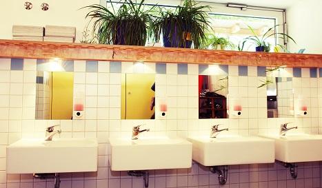 Waschraum Igelgruppe