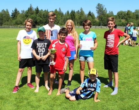 Mini Fussball Turnier Juli 2013
