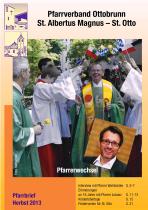 Titelseite Pfarrbrief Herbst 2013