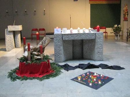 Foto Altar Legearbeit