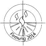 Logo Firmung 2014