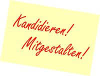 kandidieren post-it