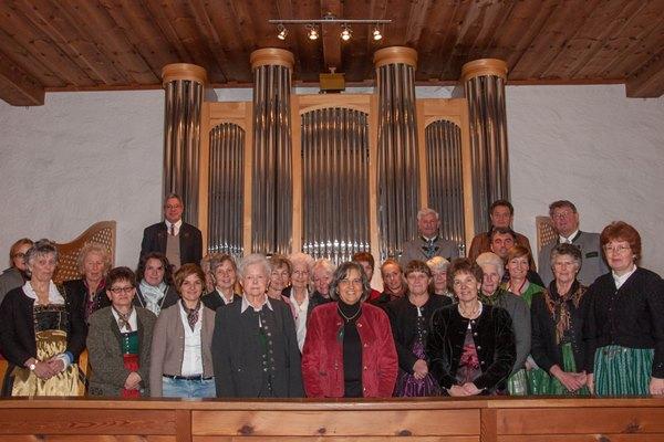 Chor beim Festkonzert