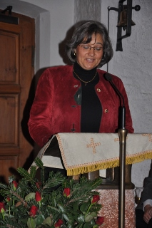 Chorleiterin Rita Staat Holzner