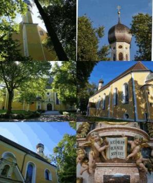 Wallfahrtskirchecollage