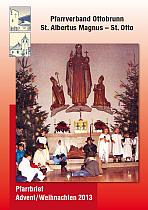 Titelseite Pfarrbrief Weihnachten 2013