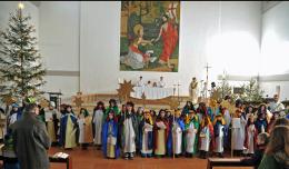 Aussendung der Sternsinger in St. Magdalena