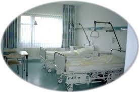Bild.Krankenbetten