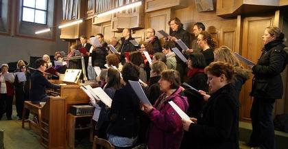 Foto Kirchenchor März 2014, (c) PV Isarvorstadt, F. Ertl