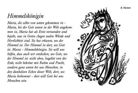 Maiandachten Texte