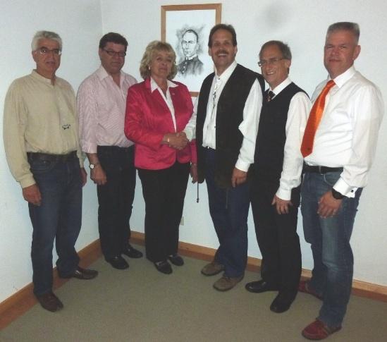 Vorstand Kolping Gilching 2014