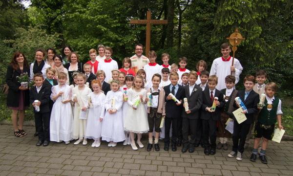 Erstkommunion 2014 St. Otto 11 Uhr