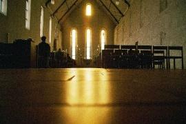 Kloster Helfta fließendes Licht