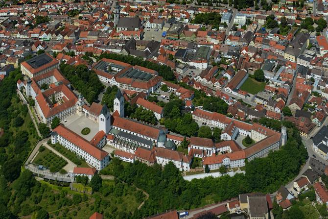 Domberg Freising, Luftbild