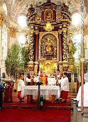 Dekanatsgottesdienst in St. Emmeram in Kleinhelfendorf