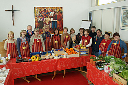 Ottobrunner Tisch - Ausgabe in St. Magdalena