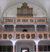 Orgel in St. Johannes Baptist in Eching
