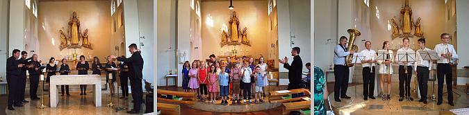 Benefizkonzert in St. Otto am 6.07.2014