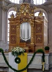 Chororgel von Mü-St. Peter