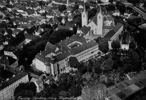 Domberg von Südwesten, Luftaufnahme, 1935