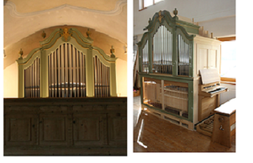 Orgel St. Peter in Steinkirchen/Törwang