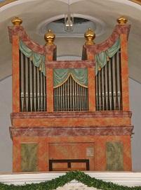 Orgel in Nussdorf-St. Leonhard
