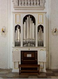 Chororgel von Traunstein, St. Oswald
