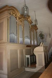 Orgel in Filial- und Wallfahrtskirche Hl. Blut in Umratshausen