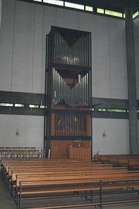 Orgel in St. Karl Borromäus in München