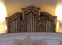 Orgel in Pfarrkirche St. Martin in Buch am Buchrain