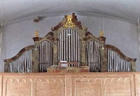 Orgel in Haindlfing, St. Laurentius