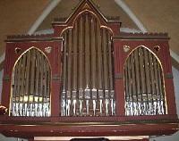 Orgel der Pfarrkirche St. Peter und Paul in Seifriedswörth