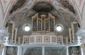 Orgel der Pfarrkirche St. Martin in Flintsbach