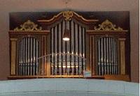 Orgel in der Pfarrkirche von St. Martin in Marzling