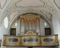Orgel in Wallfahrtskirche Maria Eck
