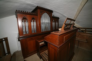 Orgel in Filialkirche St. Jakobus in Rabenden